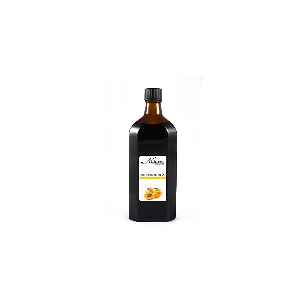 Naturra Bio Aprikosenkernl Kaltgepresst Nativ Speisel In Lichtgeschtzter Glasflasche