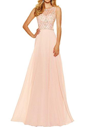 ivyd ressing robe fabuleuses pierres A robe longue Prom en ligne & tuell Party Soirée Robe Perlenrosa