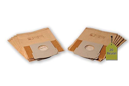 eVendix Staubsaugerbeutel passend für Sinbo SVC - 3469 | 20 Staubbeutel + 4 Mikro-Filter + 4 Motor-Filter | kompatibel mit Swirl X16