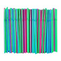 Ikea Soda - Drinking Straw Assorted Colours 200 Pack