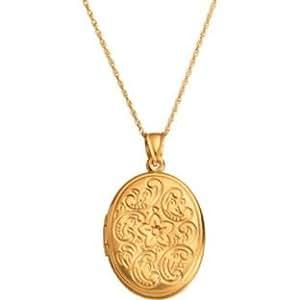 Bonded Gold geprägt Medaillon Anhänger (990865133)