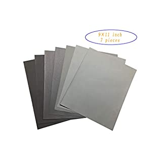 3000-10000# High Precision Sandpaper, Wet and Dry/Waterproof/Oil-Proof/Jewelry and Jade Finishing/Automotive Polishing/Wood Furniture Finishing/Crafts Finishing