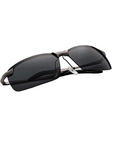 Uomo occhiali da sole polarizzati persone marea occhiali da sole polarizzati ( colore : 4 )
