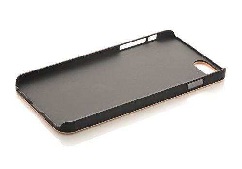 iProtect Apple iPhone 6 Plus, 6s Plus coque de protection en bois - coque rigide en bois de bambou Bois d'érable + Hard Case PC