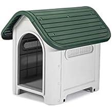 GARDIUN Caseta de Perro Kira Resina Beige/Verde 59x75x66 cm - KZT1005