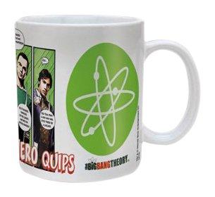 Big Bang Theory:Superhero Quips Mug