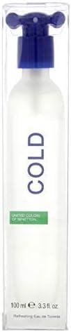 Cold Natural Spray by United Colors of Benetton for Men - Eau de Toilette, 100ml