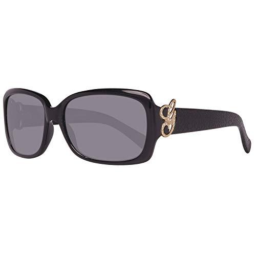 Guess Damen GU7245BLK-358 Sonnenbrille, Schwarz (Black), 58