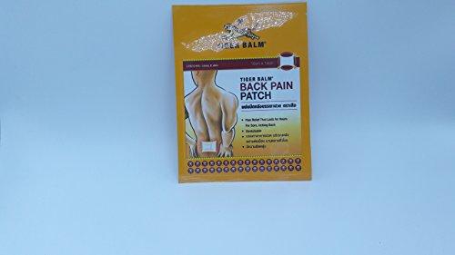 Patchs de Baume du Tigre Rouge – soulage la douleur immédiatement – action longue durée - 10 x 7 cm – paquet de 2 patchs – COMPOSITION ORIGINALE