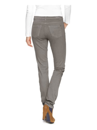 H.I.S Jeans Damen Jeans Marylin,HIS-133-10-049 Skinny Slim Fit (Röhre) Hoher Bund Grau (medium warm grey)