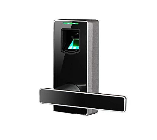 D&L Smarte Fingerabdruck-Sperre Zu Hause Holztür Smart Hebel Elektronisches Türschloss Für Schlafzimmerwohnung Büro Sicherheitstüren Schloss