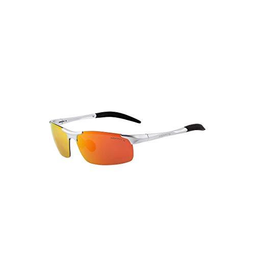 Daawqee Prämie Sonnenbrillen,Brillen, Men Polarized Sunglasses Aviation Aluminum Sun Glasses For Fishing Driving Rectangle Rimless Shades S'8277