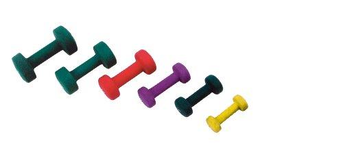 Manubrio neoprene kg 0,5 jk fitness Giallo