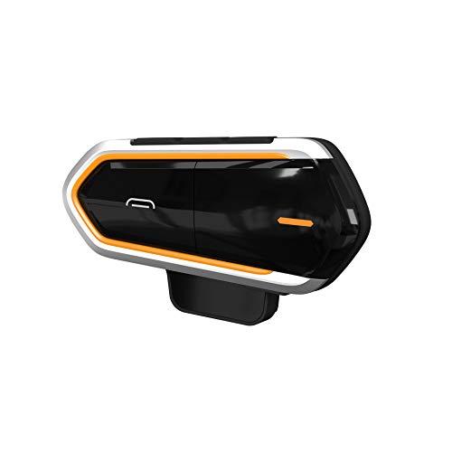 ALISALQ Kopfhörer, Motorrad, Bluetooth, Kopfhörer, Intercom, Kopfhörer, Bluetooth, 1000 m, kabellos, FM-Türsprechanlage, wasserdicht