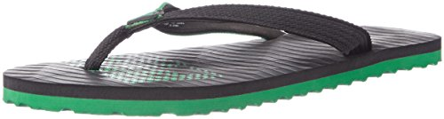 Puma Unisex Miami 6 Dp Black Island Green Flip Flops Thong Sandals - 8 UK/India (42 EU)  available at amazon for Rs.356