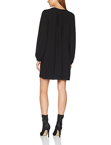 Sisley Damen Kleid Dress Schwarz (Black 100)