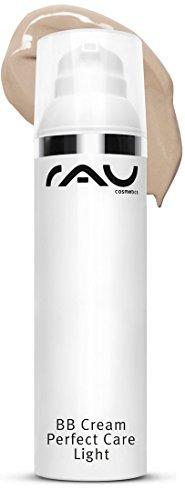 RAU BB Cream Perfect Care light 75 ml - Gesichtspflege & Make-up in Einem - Perfekte Abdeckung + Pflege + UV-Schutz - mit Zink und Vitamin E