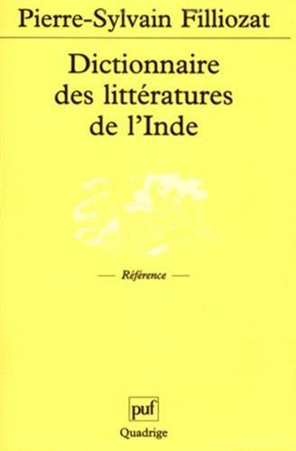Dictionnaire des littératures de l'Inde par Collectif