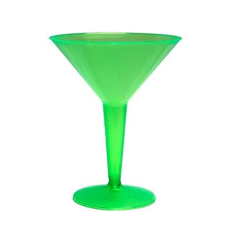 Parti Essentials Coque rigide en plastique Verres à Martini 2pièces 236ml