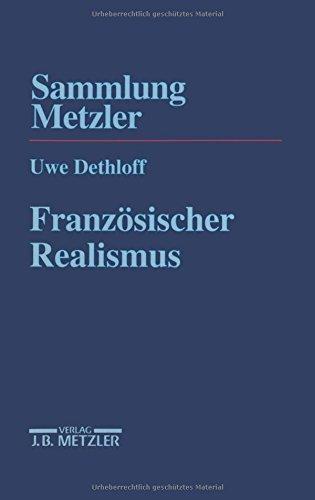 Französischer Realismus (Sammlung Metzler)