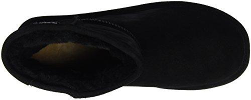 Bearpaw DEMI, Bottes courtes avec doublure chaude femme Noir - Schwarz (BLACK II  011)