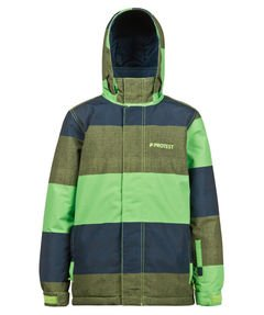Protest bambini giacca da snowboard, verde, 164