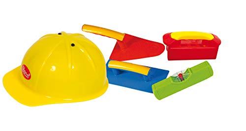 Gowi 558-68 Großes Maurerset, 5tlg, Kinderwerkzeug