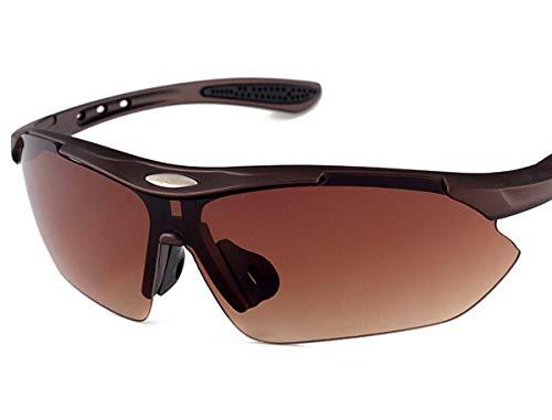Tclothing Herren Dunkel Sonnenbrille Klassisches Design Brillen Männlich Square Piloten Brille Cosplay Brille Night Vision Men Outdoor UV Fahrradbrille