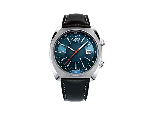 Alpina Geneve Startimer Pilot Heritage Automatic GMT AL-555N4H6 Reloj Automático para Hombres