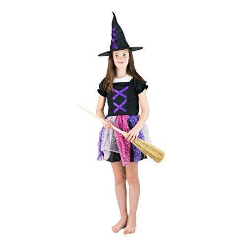 Bodysocks® Hexenkostüm für Mädchen (4-6 Jahre)