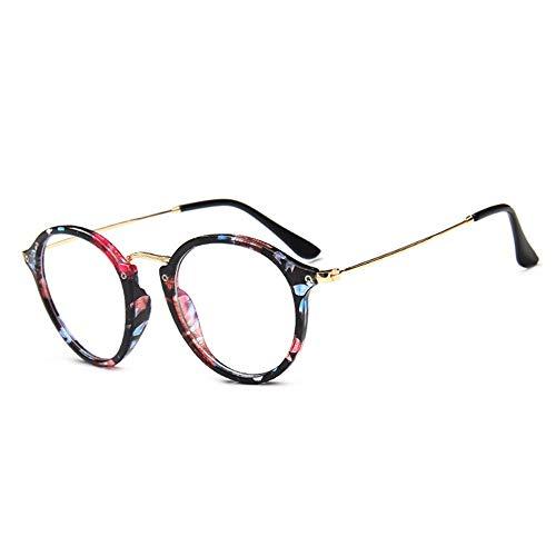 GUKOO Damen Brillengestell Herren Nerd brille ohne stärke brille vintage brille