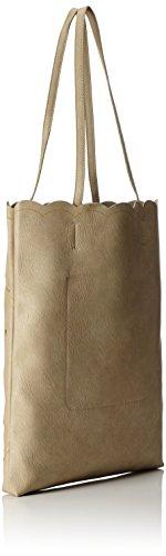 TOM TAILOR Denim 300229, Borsa a spalla Donna, 3x41x32.5 cm Beige (Offwhite)