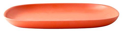 BIOBU Gusto by eKOBO 34826 Petites Assiettes 23 x 23 x 2,5 cm-Persimmon