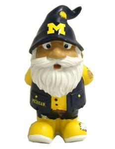 NCAA Michigan Wolverines Stumpy Gnome, One Size, Blue