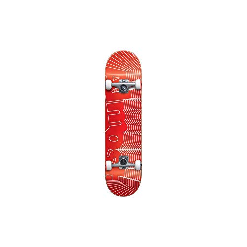 Almost Skateboards Unknown Pleasures Factory Complete Skateboard Red 7 75