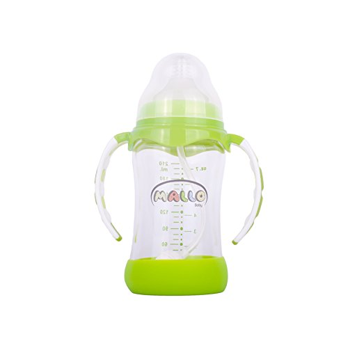 High Quality Borosilicate 7oz Glass Baby Bottle