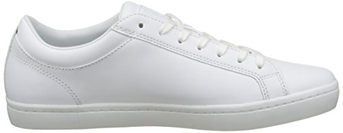 Lacoste Straightset Bl 1 Cam, Basses Homme Blanc (Wht)