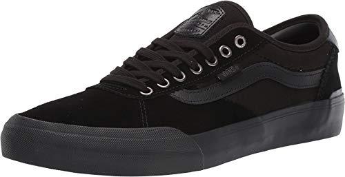 Vans Herren Chima Pro 2 Skate-Schuh, Schwarz (Suede/Blackout), 45.5 EU