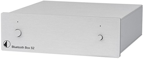 S2 Bluetooth (Pro-Ject Bluetooth Box S2 Empfänger, silber)