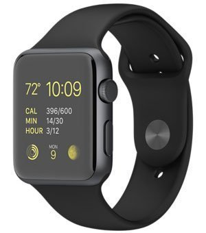 Apple Smart Watch black Color Compatible with Sony Ericsson WT19i Live With Walkman Bluetooth GT08 Wrist Watch Phone with Camera & SIM Card Support New Arrival Best Selling Lowest Price with Apps Touch Screen, Multi Language with all mobile phones (42 mm) By mobicell