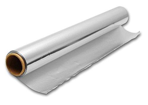Alurolle - Aluminiumfolie - Alufolie 60 cm breit - 100m lang - 18 my - superstark, reißfest und extra breit!