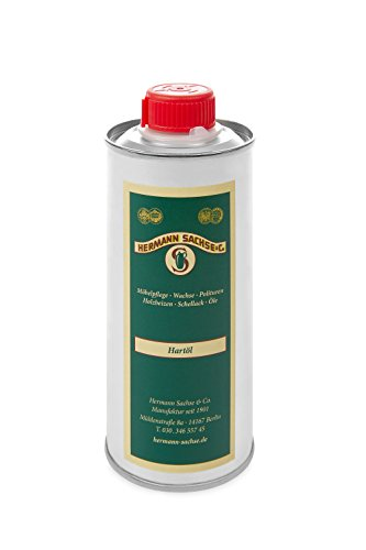 Holzöl Hartöl farblos für innen 500ml Natur Möbelpflegeöl für Tisch Türen Möbel aus Holz natürliche Holzpflege Eichenmöbel Wildeiche Kernbuche Parkett