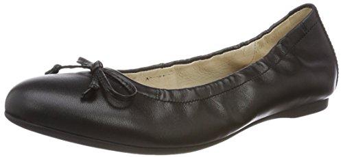 Gabor Shoes Damen Gabor Casual Geschlossene Ballerinas, Schwarz (Schwarz), 38 EU (5 UK)