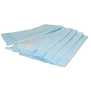 1, 15 oder 90 Stück | Inkontinenzunterlagen, Krankenunterlagen 70x175cm, handlich unterverpackte Einwegunterlagen, super saugfähiges Flockenmaterial, VIDIMA
