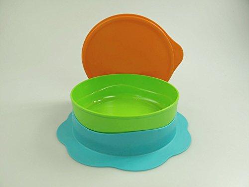 Tupperware - Piatto con supporto a ventosa, 500 ml, colore: (Ventosa Piatti)