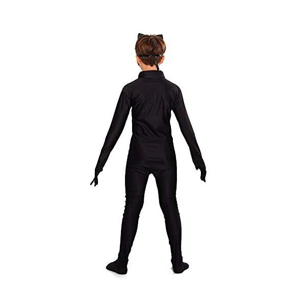 URAQT Ladybug Costume , Miracolosa Coccinella Ragazze, Costumi Cosplay di Carnevale e Halloween, Set 3 Pezzi Vestiti… 2 spesavip