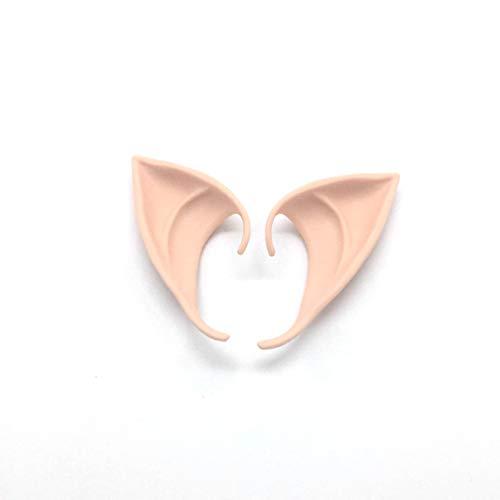Engel Elf Ears weiches falsche Ohren Halloween-Partei Cosplay Zubehör