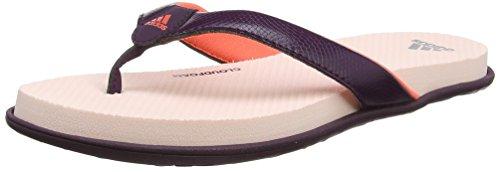 Adidas Damen Cloudfoam One Y W Sport Sandalen, Mehrfarbig (Red Night F17/Easy Coral S17/Icey Pink F17), 39 1/3 EU