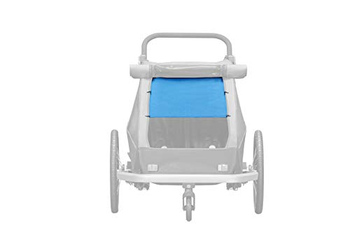 Croozer Kid Plus for 1 Sonnenschutz Ocean Blue Modell 2018