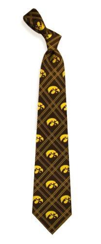 University of Iowa Hawkeyes (Tiger Hawk) NCAA College Sports Plaid